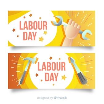 Banner do dia do trabalho