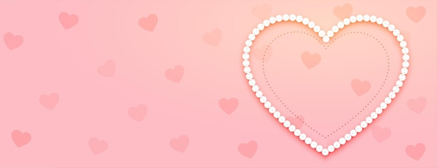 Banner do dia dos namorados com coração