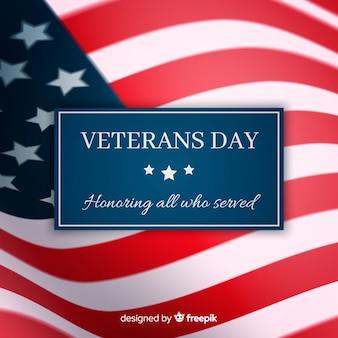 Banner do dia dos veteranos