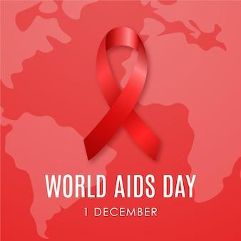 Banner do dia mundial da aids