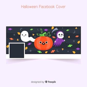 Banner do facebook para o dia das bruxas