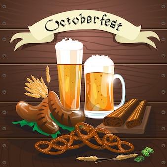 Banner do festival da oktoberfest