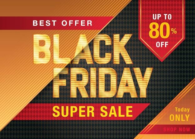 Banner do modelo black friday sale