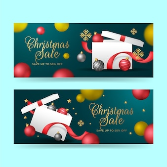 Banner do projeto de venda de natal