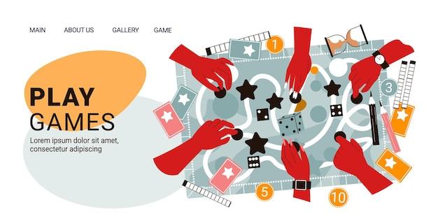 Banner horizontal de jogos