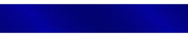 Banner horizontal gradiente de meio-tom abstrato em cores azuis
