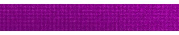 Banner horizontal gradiente de meio-tom abstrato em tons aleatórios de cores roxas