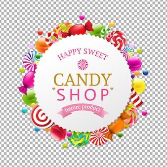 Banner loja de doces