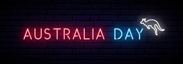 Banner longo dia da austrália