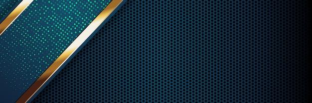 Banner luxo cor clara pano de fundo