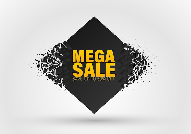 Banner mega sale