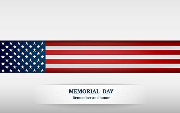 Banner para o dia do memorial.