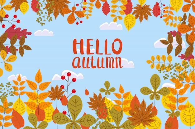 Banner para venda de outono