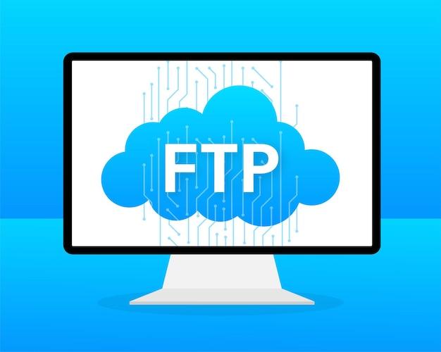Banner plano da web com ftp