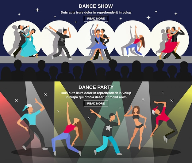 Banner plano de dança
