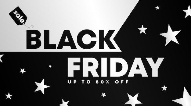 Banner preto de sexta-feira e modelo de plano de fundo. modelo de folheto para sexta-feira negra.