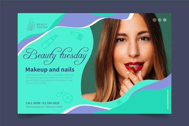 Banner salão de beleza