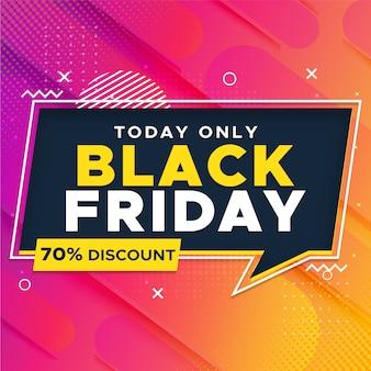 Banner super venda sexta-feira negra