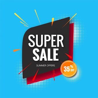 Banner super venda