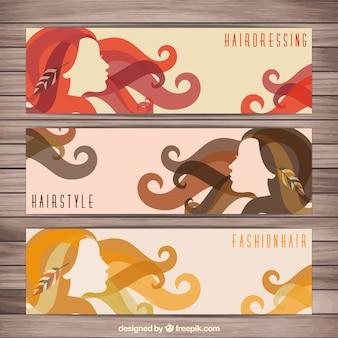 Banners de cabeleireiro