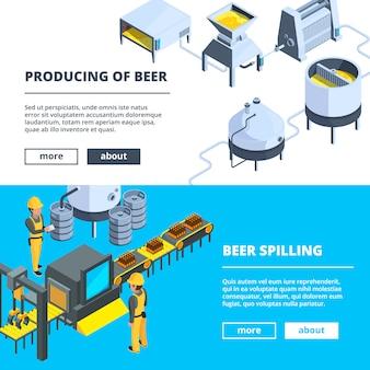 Banners de cervejaria
