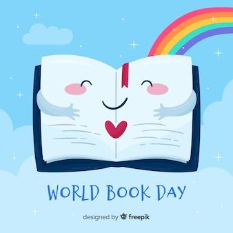 Banners de dia livro livro mundo
