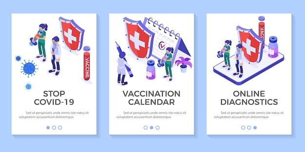 Banners de diagnóstico on-line