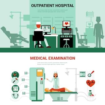 Banners de especialistas médicos