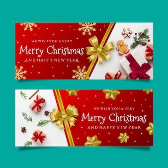Banners de natal com foto