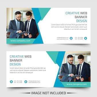 Banners de negócios web