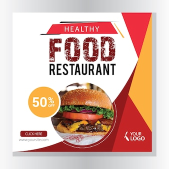 Banners de restaurante