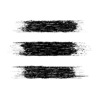 Banners de textura de traço angustiado