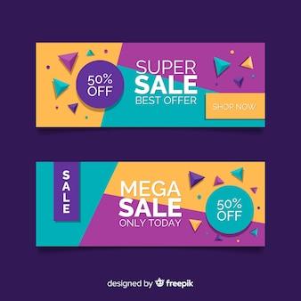 Banners de vendas