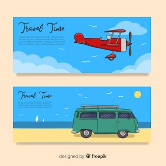 Banners de viagem