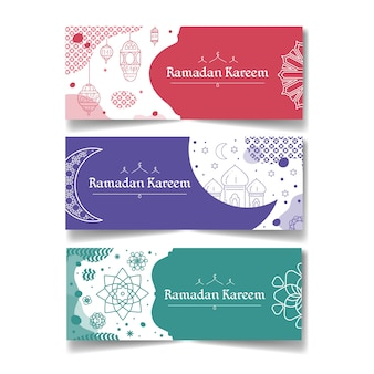 Banners do ramadã