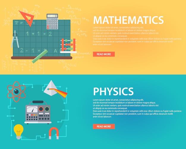 Banners educação definido