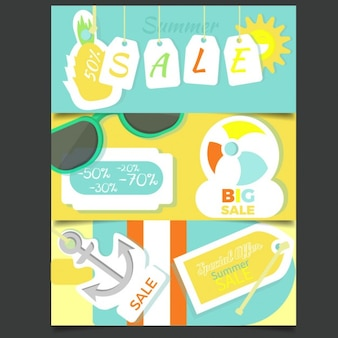 Banners summer sale