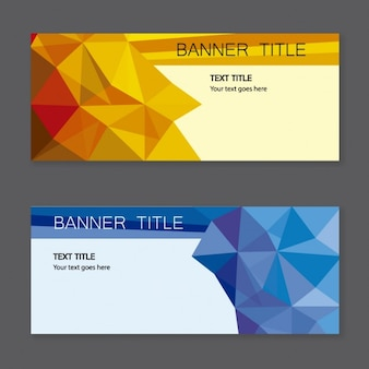 Banners vectorial