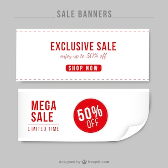 Banners venda exclusiva