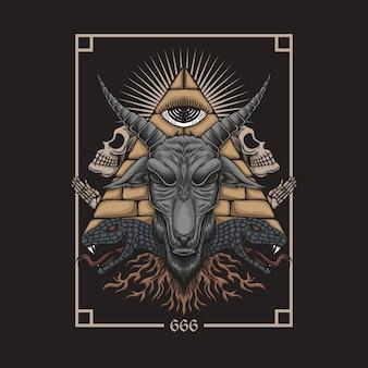 Baphomet satanic