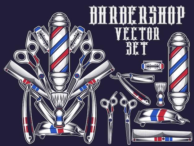 Barbearia ite, conjunto