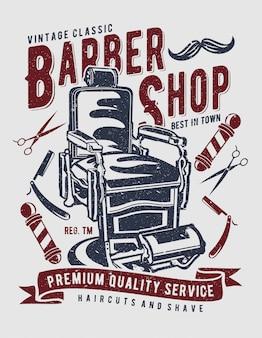 Barbearia vintage