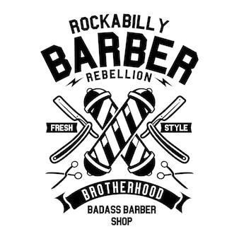 Barbeiro rockabilly