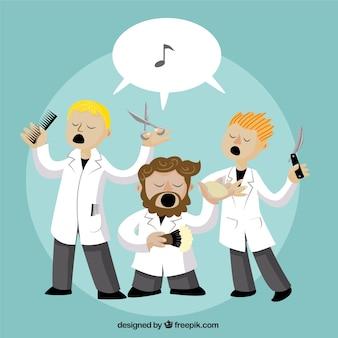 Barbers cantar