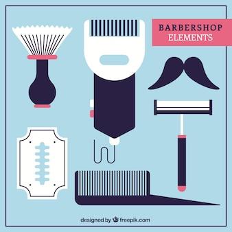 Barbershop elemento de coleção