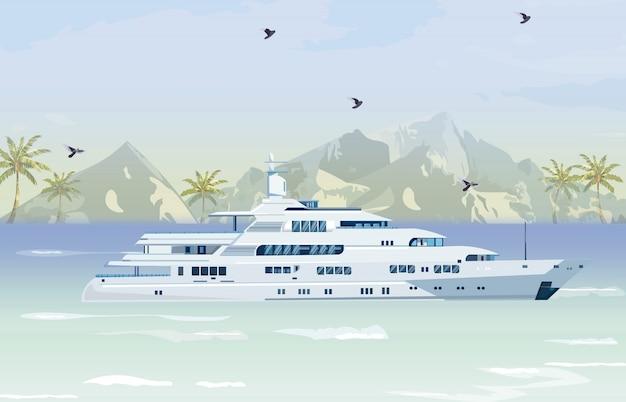 Barco de viagem