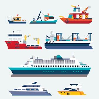 Barco e navio
