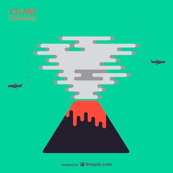 Bardarbunga erupção vector