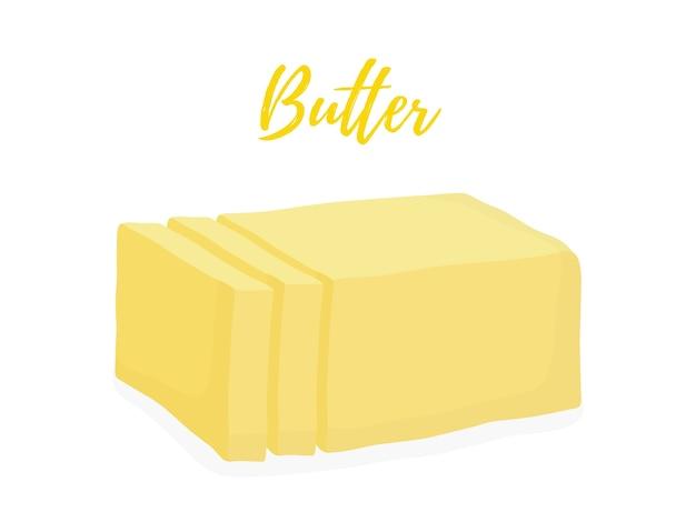 Barra de manteiga amarela