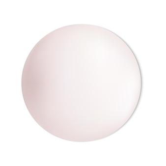 Barra de sabão isolada peça sólida barra em forma de círculo rosa closeup para lavagem de produtos de higiene mãos ensaboadas